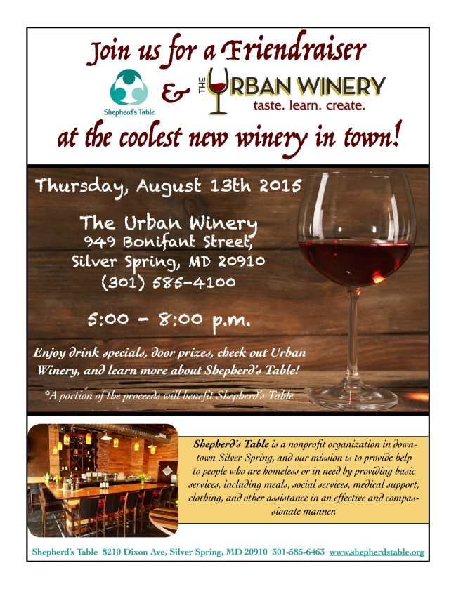 Friendraiser Urban Winery 3