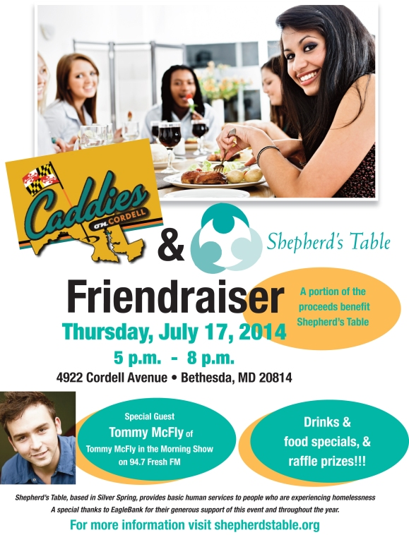 Shepherd's Table Friendraiser